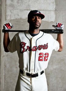 Players such as the Atlanta Braves' Jason Heyward are well-versed in the art of making adjustments.